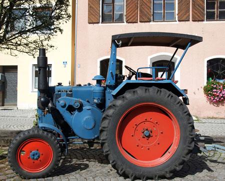 Traktorshow-dippemarkt