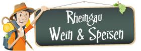 Wein und Speisen im Rheingau