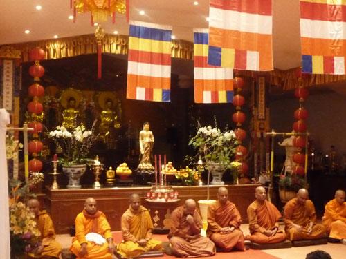 Buddhistische-Mönche