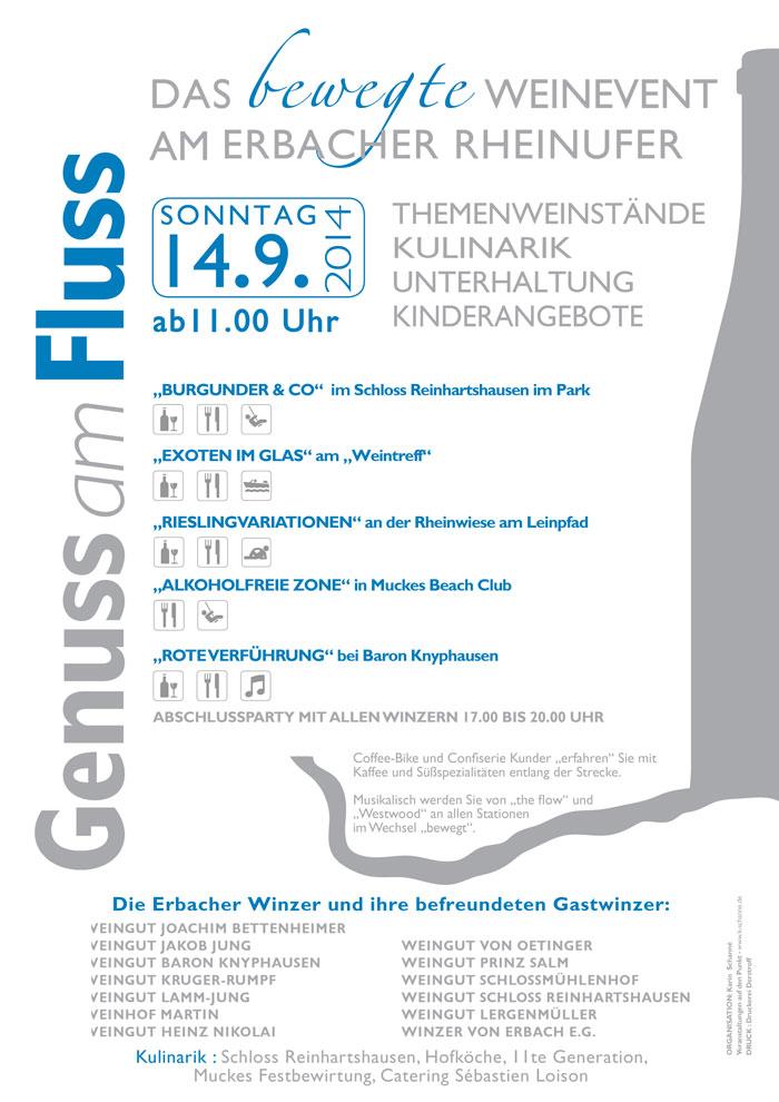 GenussAmFluss-Plakat